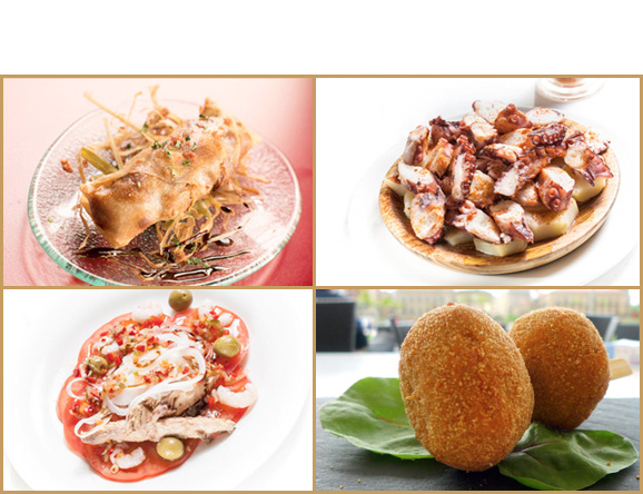 Café Iruña, variada oferta gastronomica