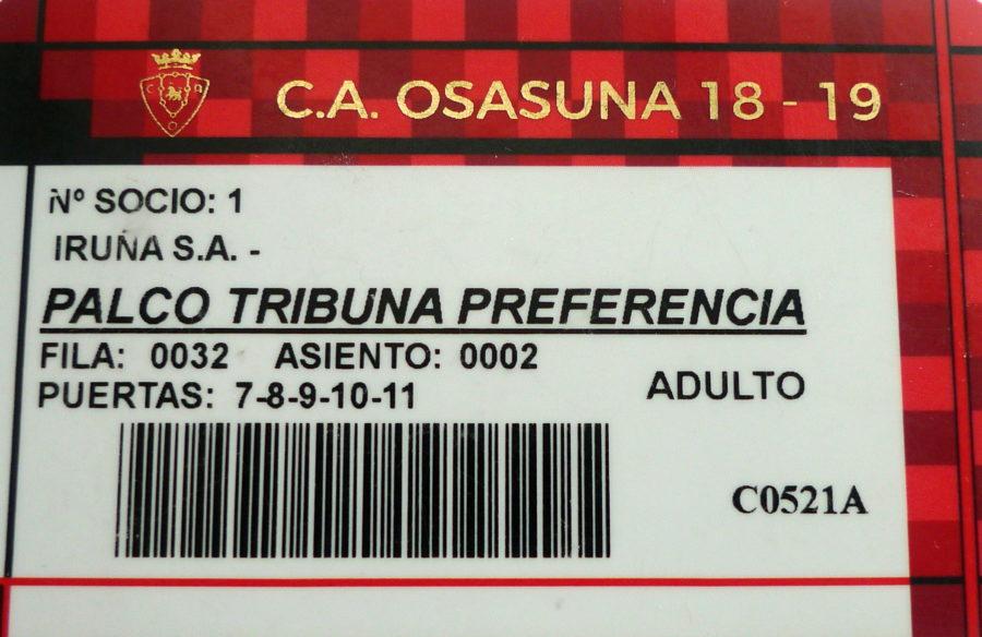 El Café Iruña, socio nº1, celebra el ascenso de Club Atlético Osasuna